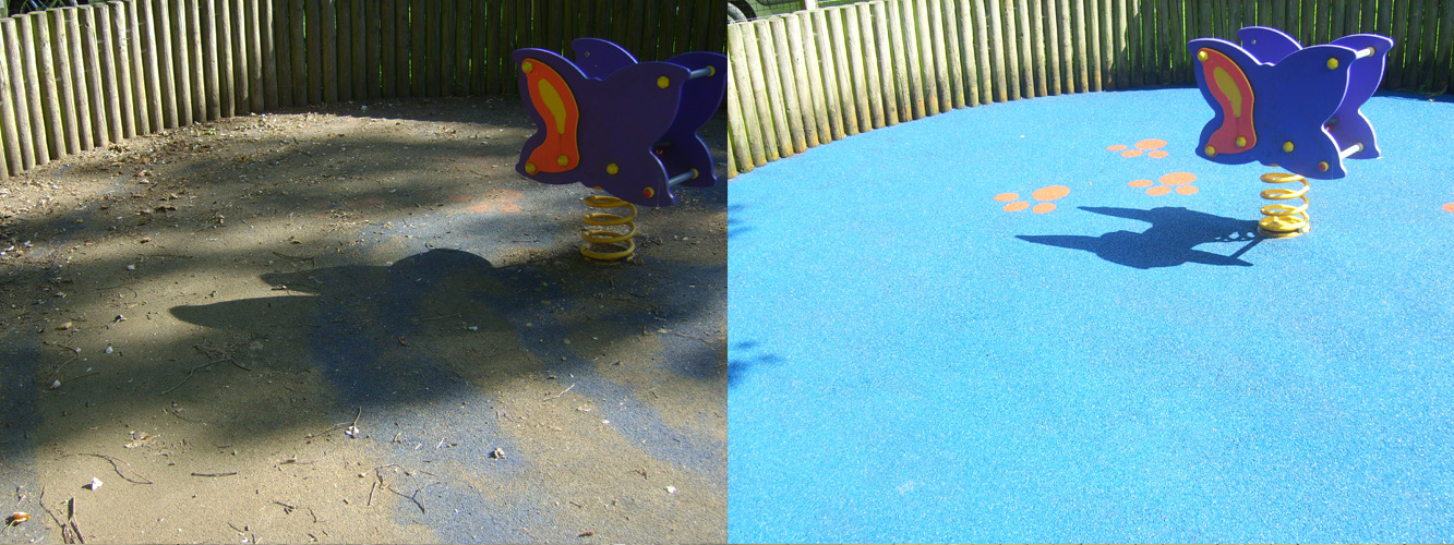 Jetwashing playgroundsn in Surrey
