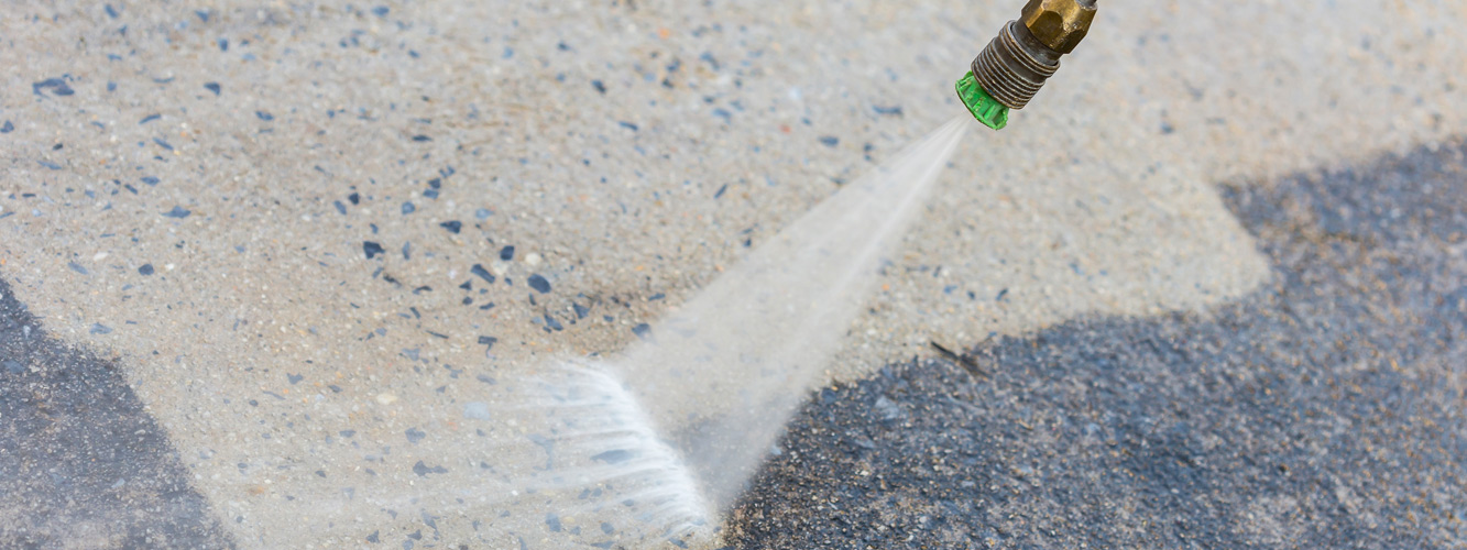 Jet washing services for decking, conservatories and more