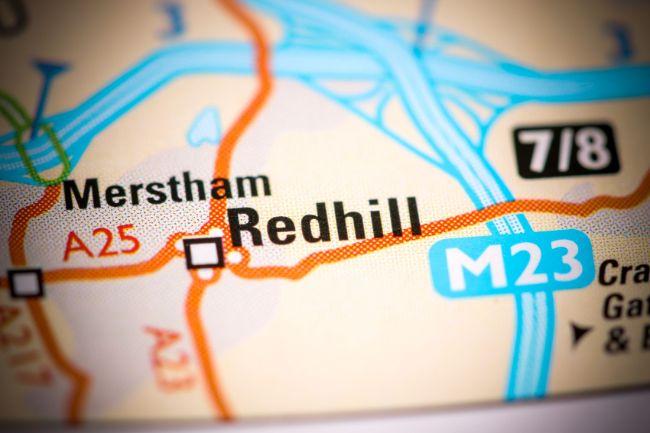 Pressure washing company near me in Redhill