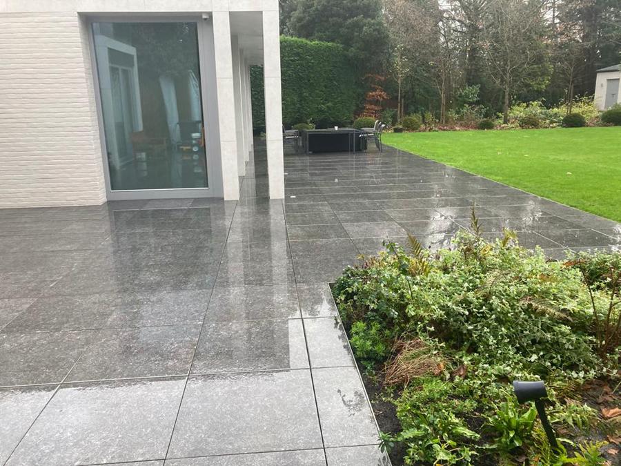 Garden patio pressure washing services in Surrey