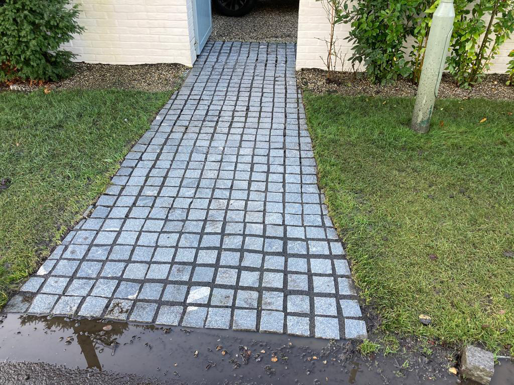 Block paving path cleaning in Surrey