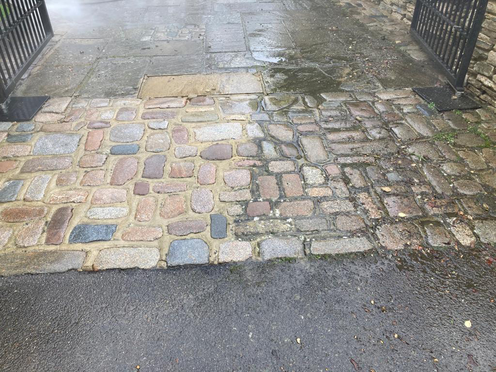 Paving cleaning in Surrey