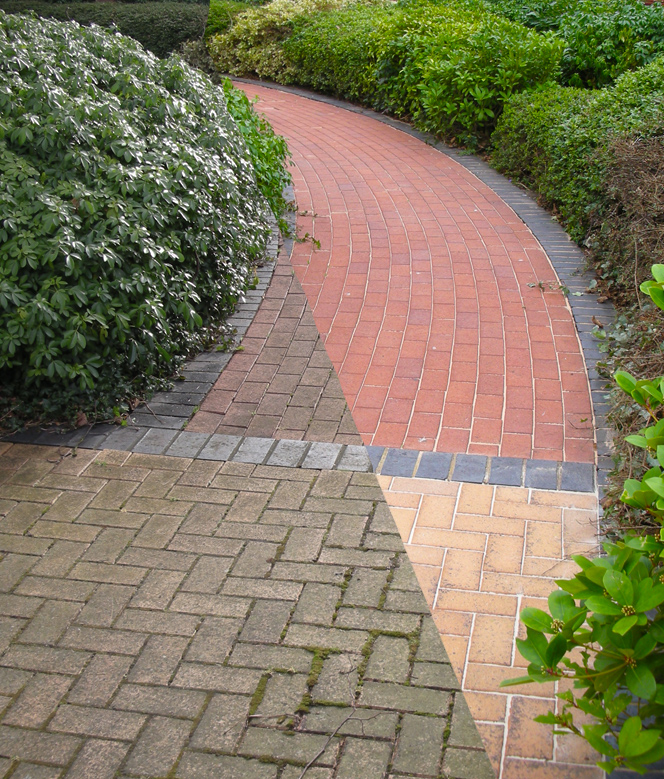 Pressure washing for residential and commercial properties in Cheam