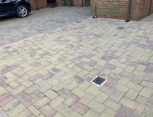 Driveway Cleaning, Re-sanding and Sealing