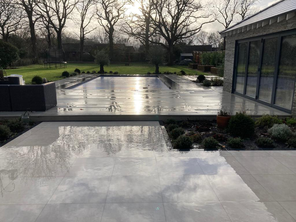 Driveway and patio cleaning local to Brooklands