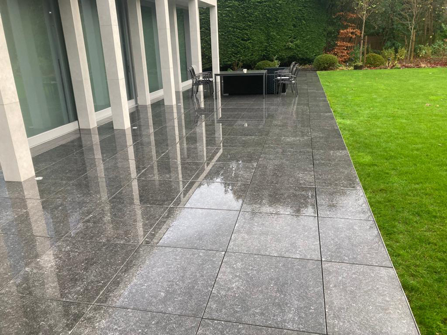 Patio pressure washing in Surrey